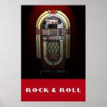 Rock & Roll Jukebox 36 x 24 Poster