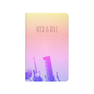 Rock & Roll Notebook - Customizable