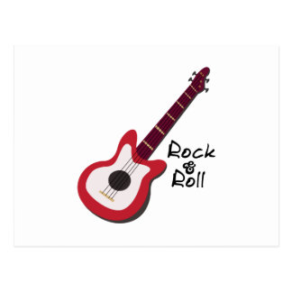 Rock & Roll Postcard