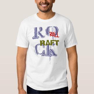 Rock, Roll, Raft Tee Shirts