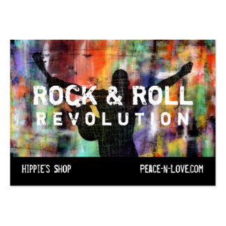 Rock & Roll Revolution Pack Of Chubby Business Cards