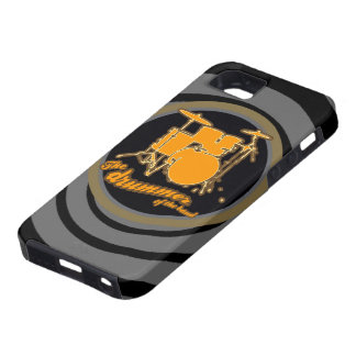 rock & roll ~ the drummer iPhone 5 cases