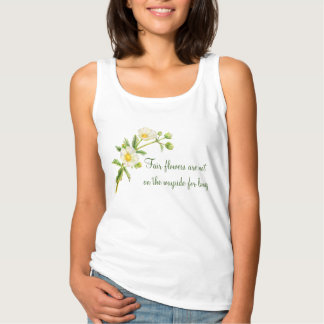 Rock rose fair flowers slogan t-shirt