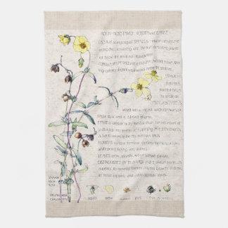 Rock Rose Wildflowers Flowers Kitchen Towels