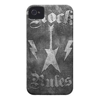 Rock Rules !! iPhone 4 Case-Mate Case