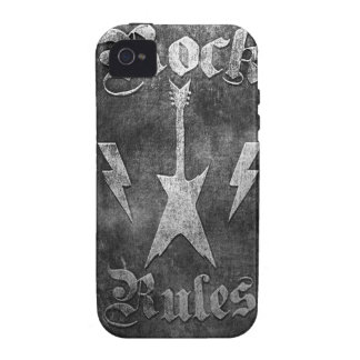 Rock Rules !! Case-Mate iPhone 4 Cases