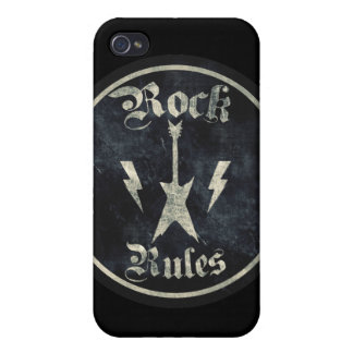 Rock Rules iPhone 4/4S Case