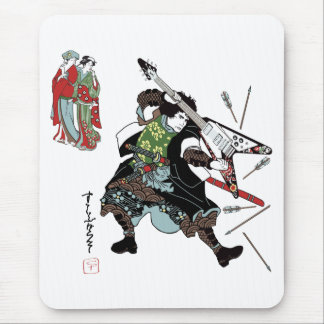 Rock Samurai Mouse Pad