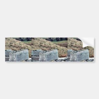 Rock Sandpiper on WWII Ruins Bumper Stickers