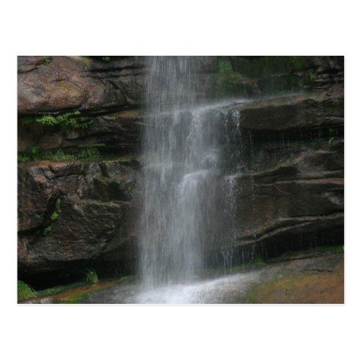 Rock Shelf Waterfall Postcards