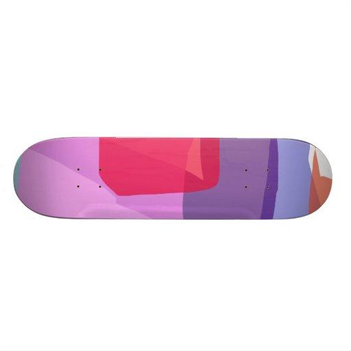 Rock Skate Board Deck