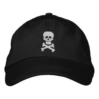 Rock Skull Adjustable Hat Baseball Cap