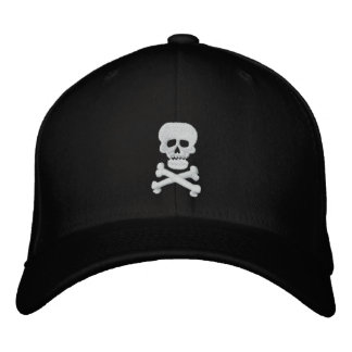 Rock Skull Adjustable Hat Embroidered Baseball Caps
