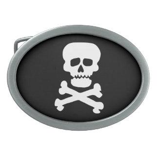 Rock Skull Belt Buckles