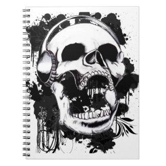Rock Skull Notebook