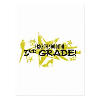 ROCK SNOT - 3RD GRADE POSTCARD