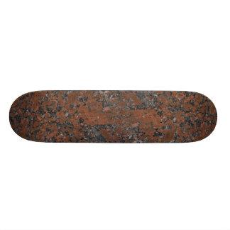 Rock Solid Coppertone Custom Skateboard