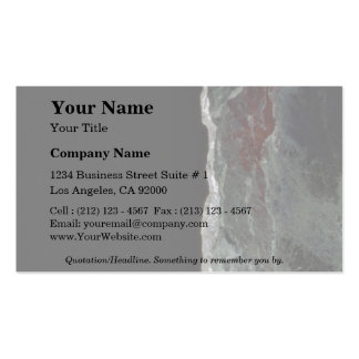 Rock Solid Edge of darkness Business Card
