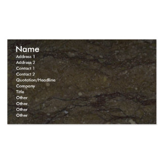 Rock Solid Flowing grains Business Cards