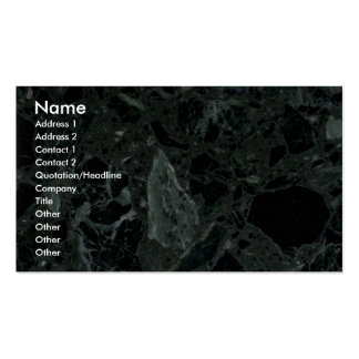 Rock Solid Jagged edges Business Card Template