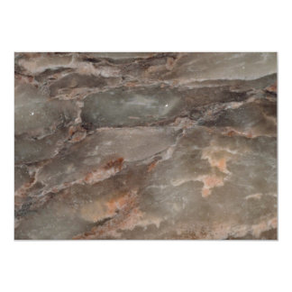 """Rock Solid Reflective motion 5"""" X 7"""" Invitation Card"""