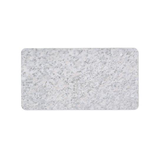 Rock Solid Salt 'n pepper Label