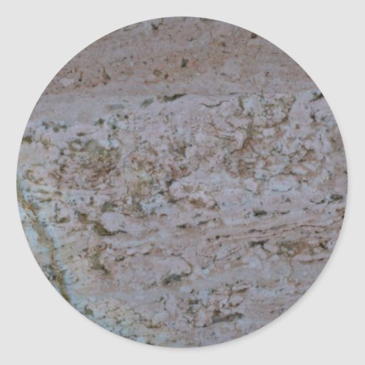 Rock Solid Scattered peach Stickers
