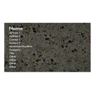 Rock Solid Speckled Pack Of Standard Business Cards