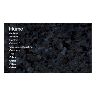 Rock Solid Suzanne s stone Business Card