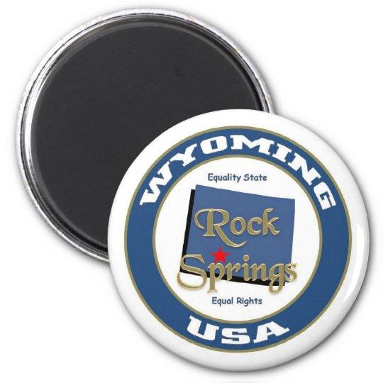 Rock springs magnet