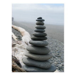Rock Stack Postcard