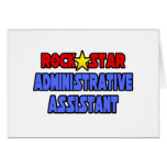 Rock Star Administrative Assistant Card