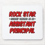 Rock Star ... Assistant Principal Mouse Pad