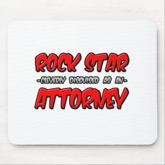 Rock Star...Attorney Mouse Mat
