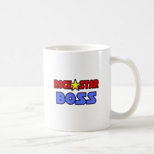 Rock Star Boss Basic White Mug
