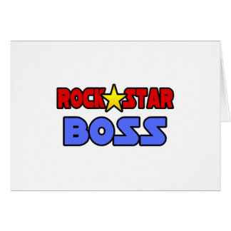Rock Star Boss Card
