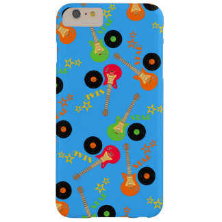 Rock star boy birthday party barely there iPhone 6 plus case