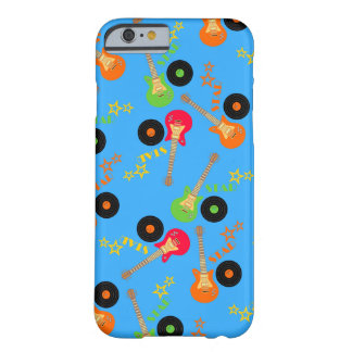 Rock Star Boy birthday party Barely There iPhone 6 Case