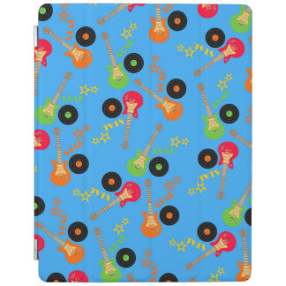 Rock star boy birthday party iPad cover