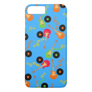 Rock star boy birthday party iPhone 7 plus case