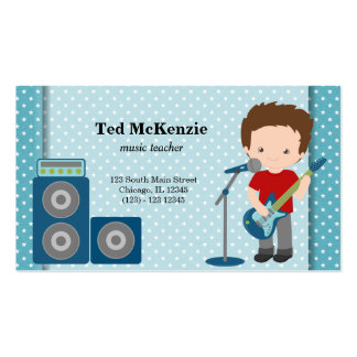 Rock Star Pack Of Standard Business Cards