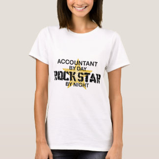 Rock Star by Night - Accountant T-Shirt