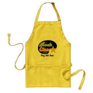Rock Star By Night - Day Job Boss Adult Apron