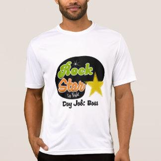 Rock Star By Night - Day Job Boss Tshirt