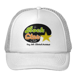 Rock Star By Night - Day Job Clerical Assistant Cap
