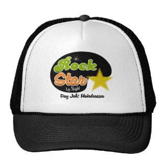 Rock Star By Night - Day Job Hairdresser Mesh Hats