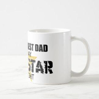Rock Star by Night - World's Best Dad Coffee Mug