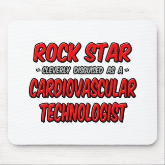 Rock Star .. Cardiovascular Technologist Mousepads