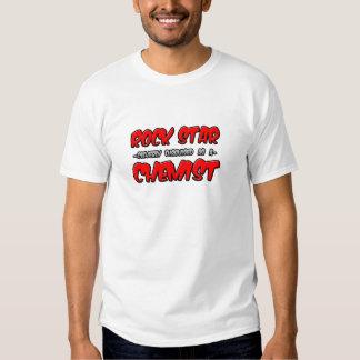 Rock Star...Chemist Tshirt