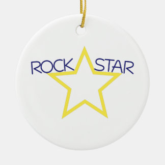 Rock Star Christmas Ornament